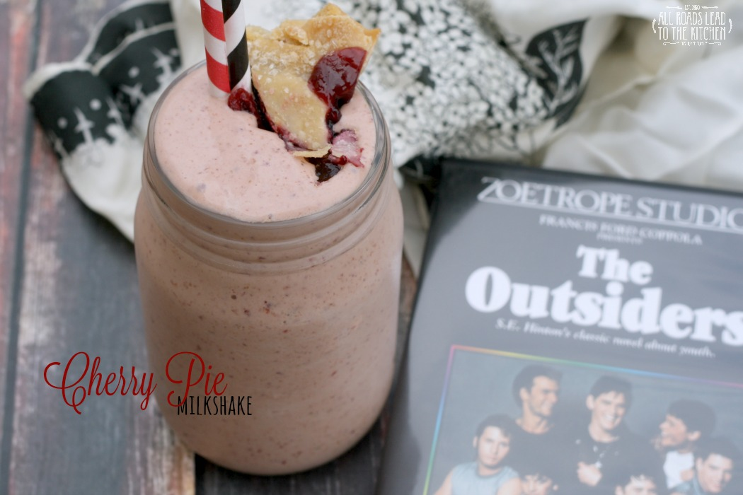 Cherry Pie Milkshake inspired by The Outsiders | #FridayPieDay