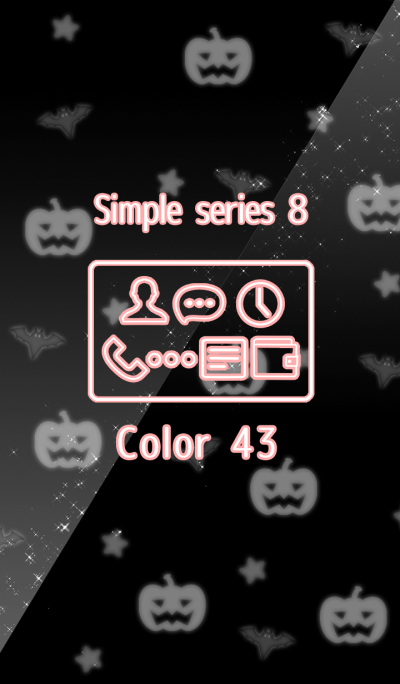 Simple series Halloween 8 -Color 43 -
