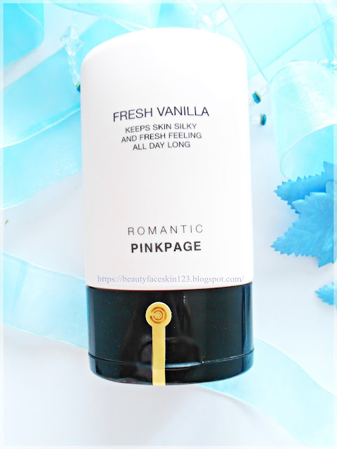 Pinkpage Cream Deodorant Fresh Vanilla