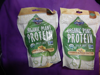 Organic Plant Protein: Smooth Almond Butter Review