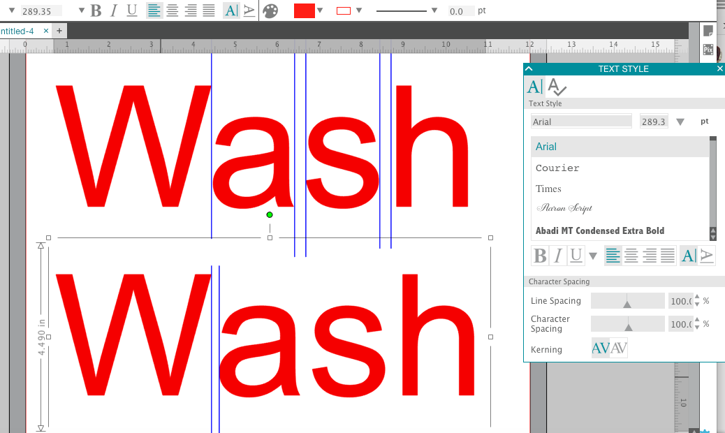 What Is Kerning Silhouette Studio Text Tutorial