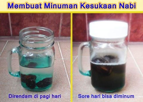 Inilah Resep Minuman Kesukaan Nabi Muhammad SAW, Anda Wajib Coba