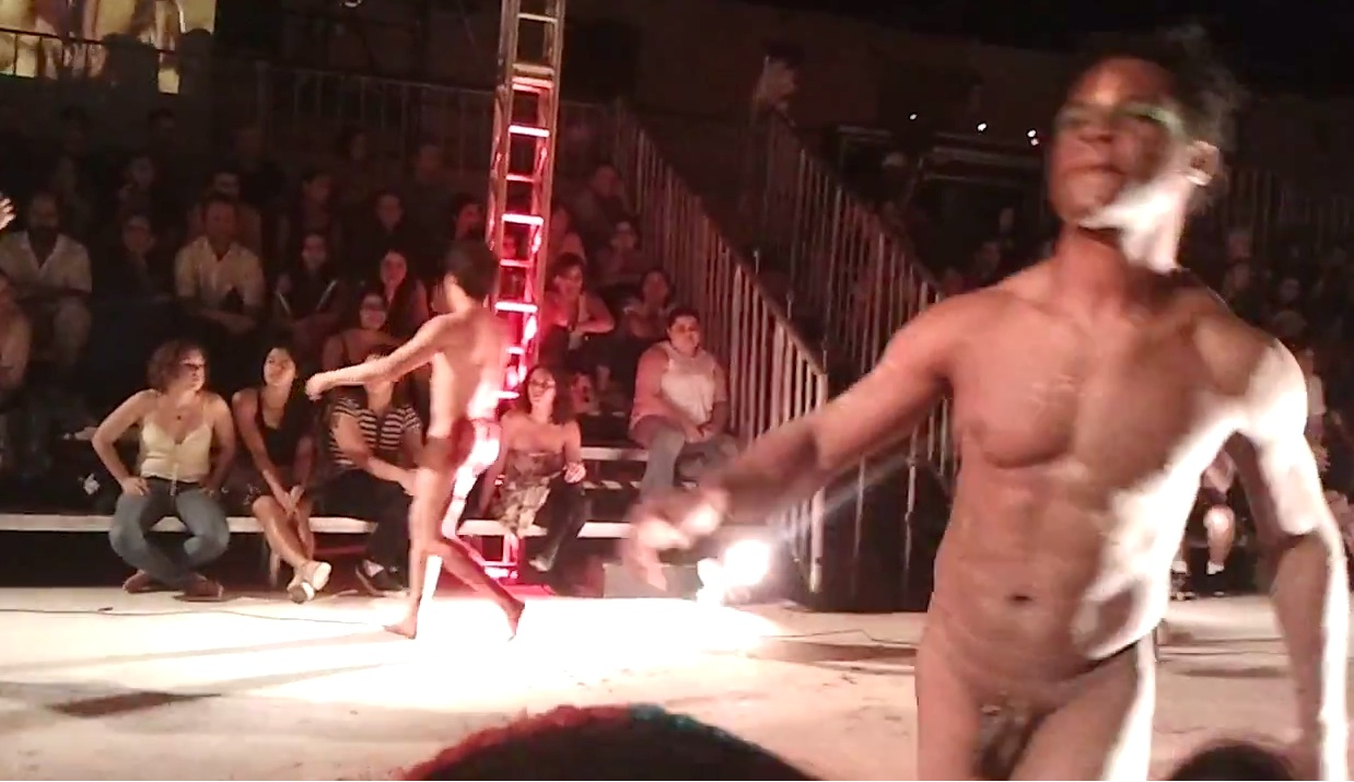 nudity in stage videos