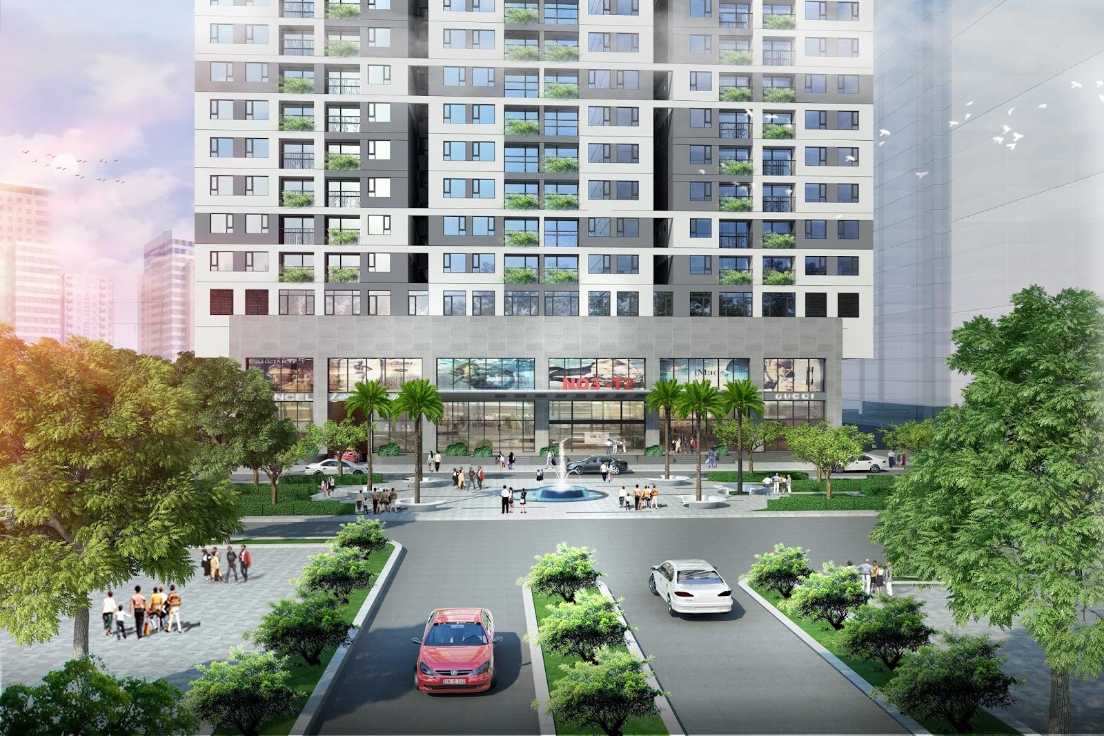 Giới thiệu Chung cư Taseco Complex - N03T2 Ngoại Giao Đoàn