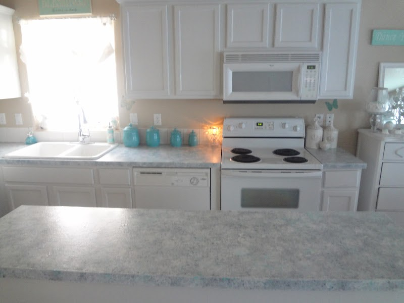 Not So Shabby Shabby Chic Giani Granite Countertop Paint