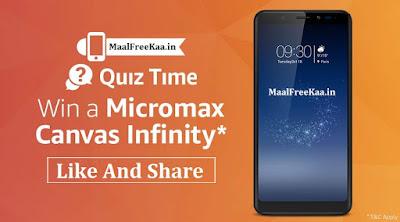 Quiz Time Amazon Win Micromax