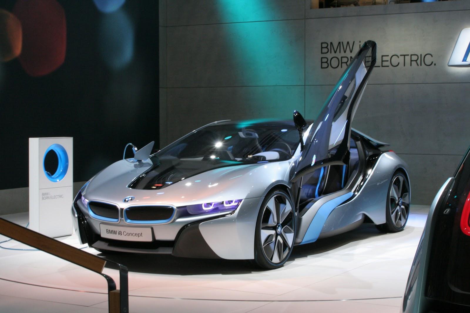 Sports Cars Bmw I8 Concept