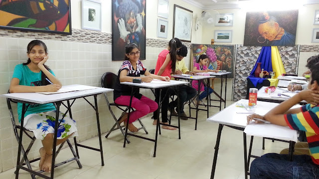RAAH Organized  Fine Art Workshop 2015 Raah Organized Two Days Art Workshop 22/04/2015 to 23/04/2015 The Main Purpose Workshop to Encourage the Development of Fine Art and Activities Children's Art in its Various Forms