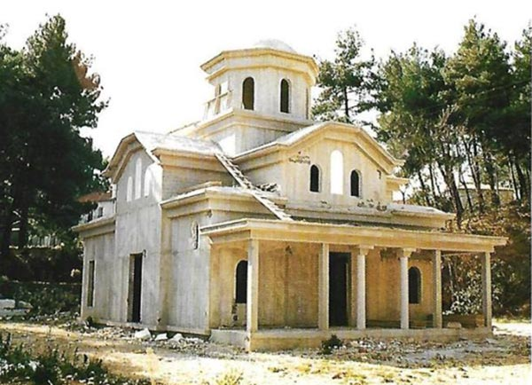 """Παραμένει επί πενήντα χρόνια ανολοκλήρωτος ο ναός των """"εν Ηπείρω Αγίων"""""""