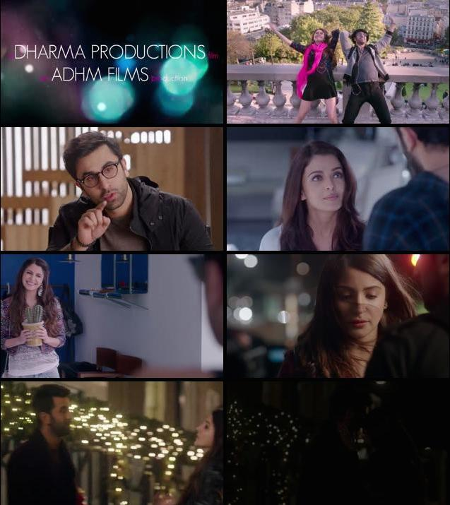 Ae Dil Hai Mushkil 2016 Hindi Movie Official Trailer HD Download at movies500.com