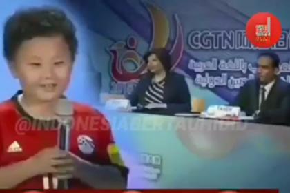 Anak Keturunan China Ditanya Mengapa Belajar Bahasa Arab? Jawabannya Bikin Tercengang