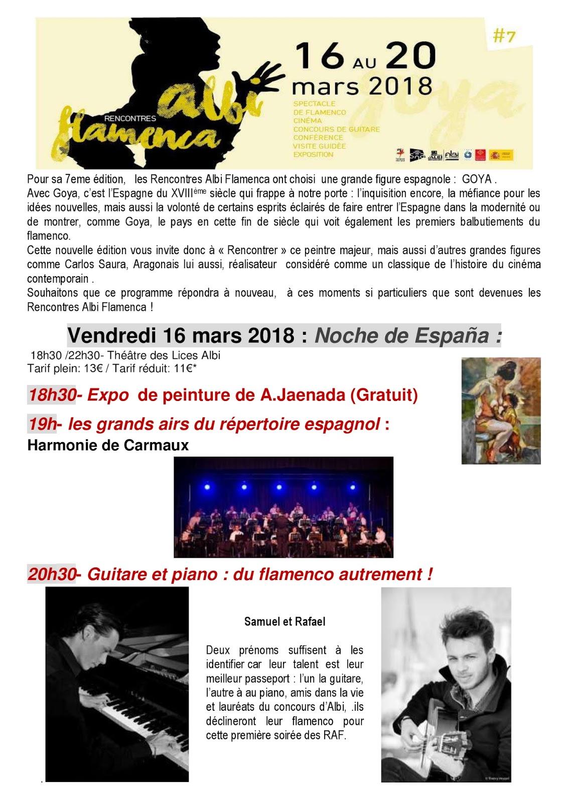 Programme rencontres brel 2018