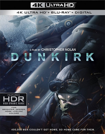 Dunkirk IMAX 4K (2017) 2160p 4K UltraHD HDR BluRay REMUX 46GB mkv Dual Audio DTS-HD 5.1 ch