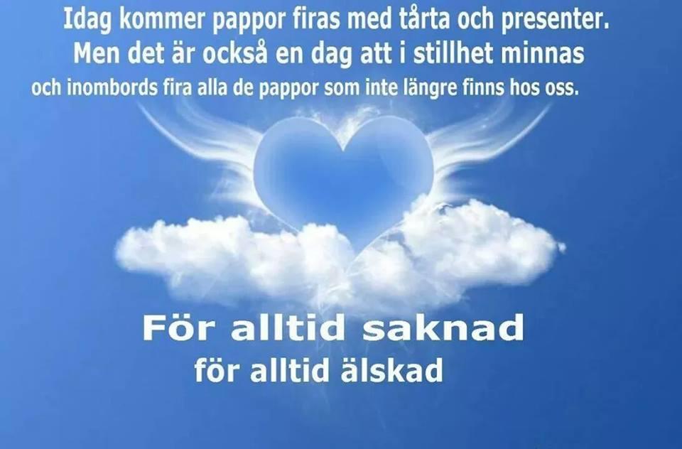 grattis på farsdag pappa Min blogg om allt mellan himmel och jord: Farsdag utan pappa:( grattis på farsdag pappa