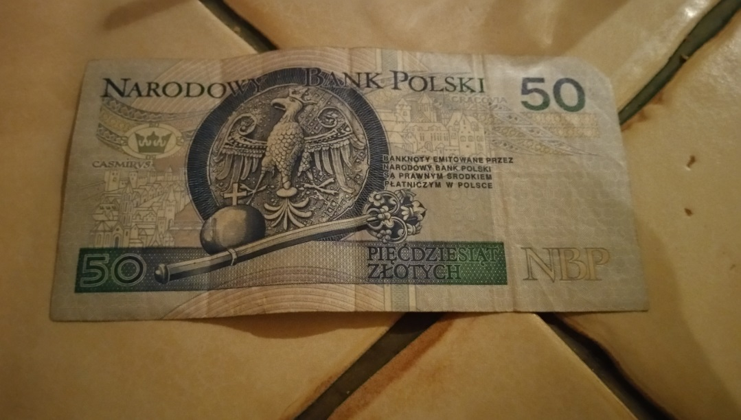 One British Pound Is Worth About Five Zloty So The Above Note Was Ten Pounds Goes Further In Poland Than United Kingdom Because