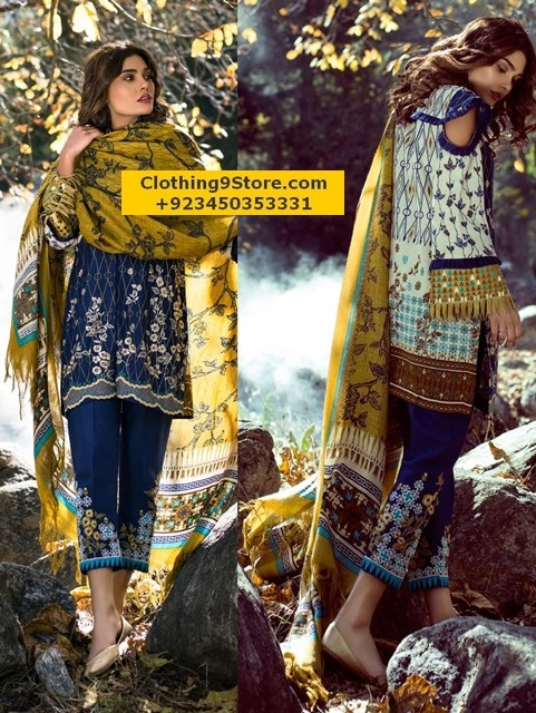 Lakhani Winter Shawl Collection 2017-2018 With Prices
