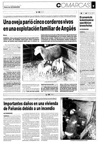 Importantes daños en una vivienda de Fañanás debido a un incendio