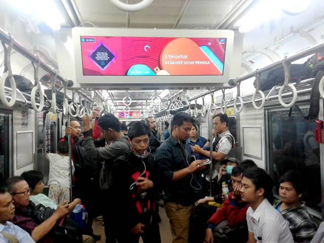 Penumpang Wanita Lebih Diprioritaskan di Kereta (Gerbong) Umum
