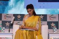 Gorgeous Jacqueline Fernandez  in yellow saree 09.JPG