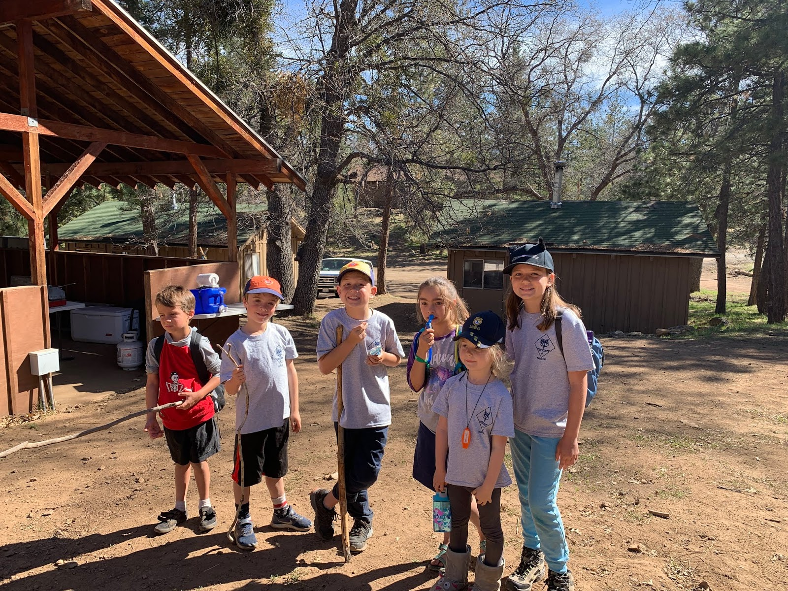 Team Kingman Part 2: Cub Scout Camping at Camp Tahquitz