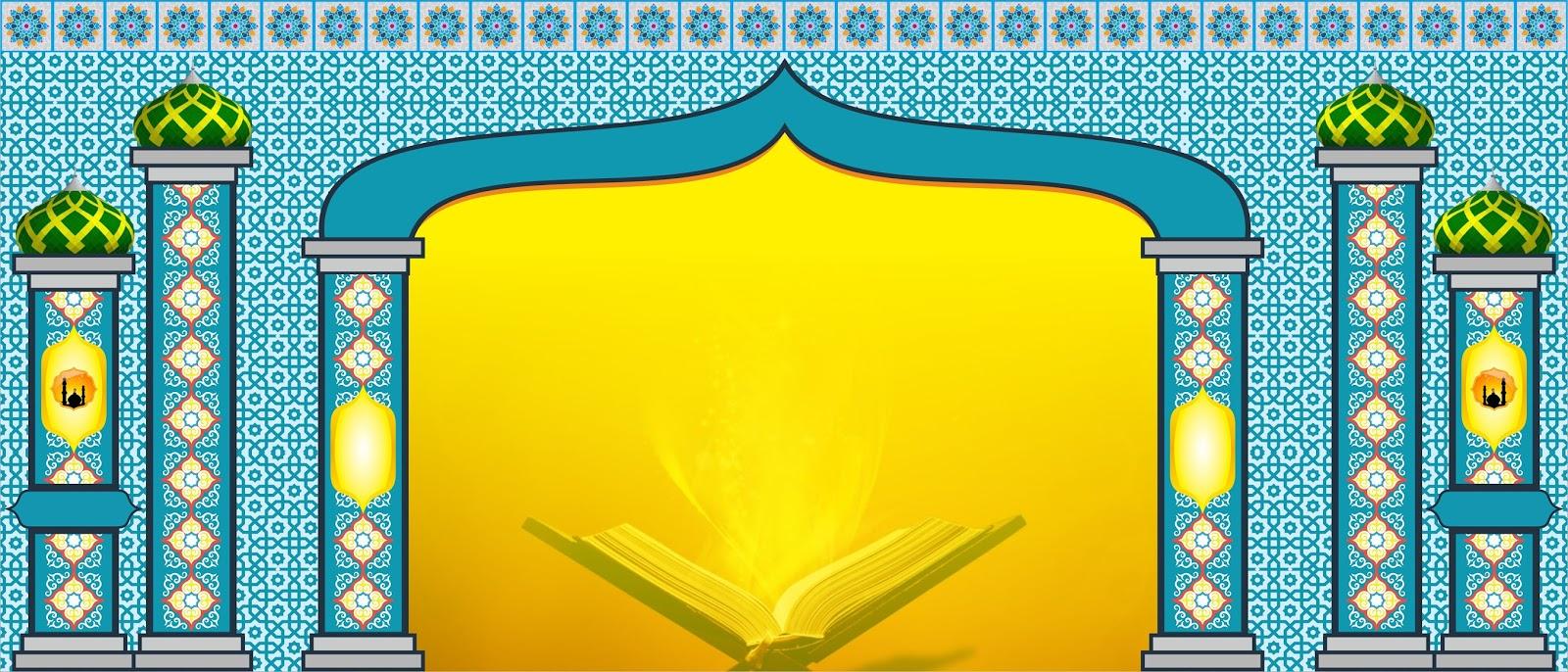 Download Desain Backdrop Islami Format Vektor Cdr Pandasoft