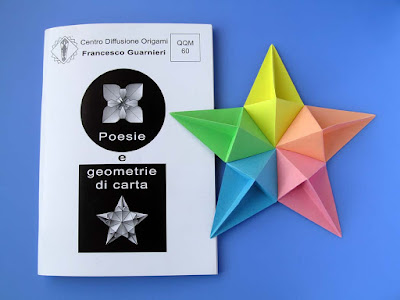 Rivista origami QQM 60 e Stella diamante - Diamond Star by Francesco