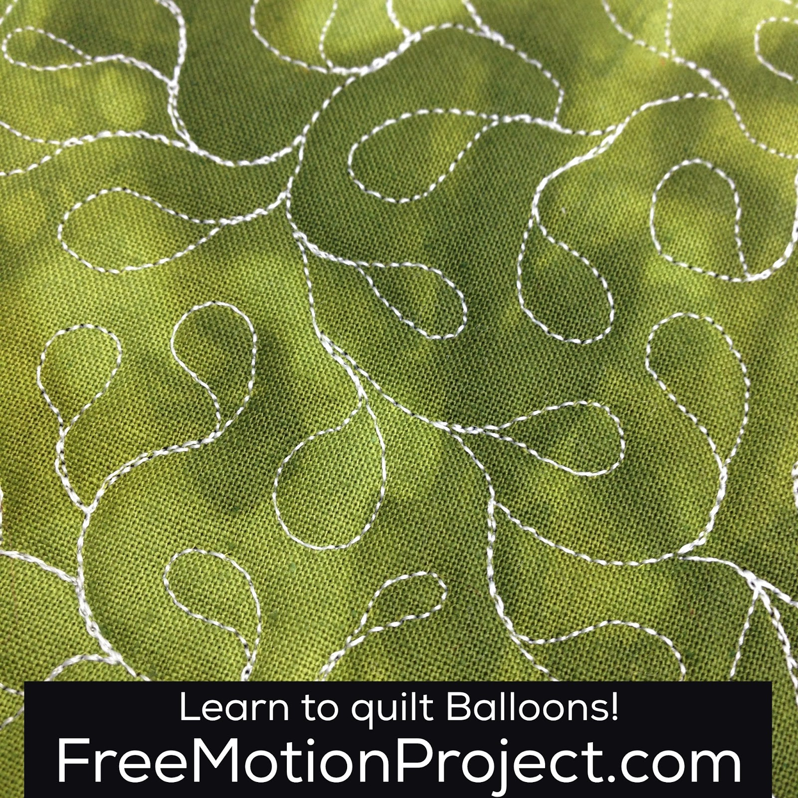 The Free Motion Quilting Project How To Machine Quilt