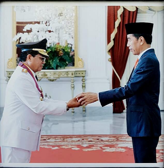 Dilantik oleh Presiden RI, Fachrori Umar Resmi Menjabat Sebagai Gubernur Jambi