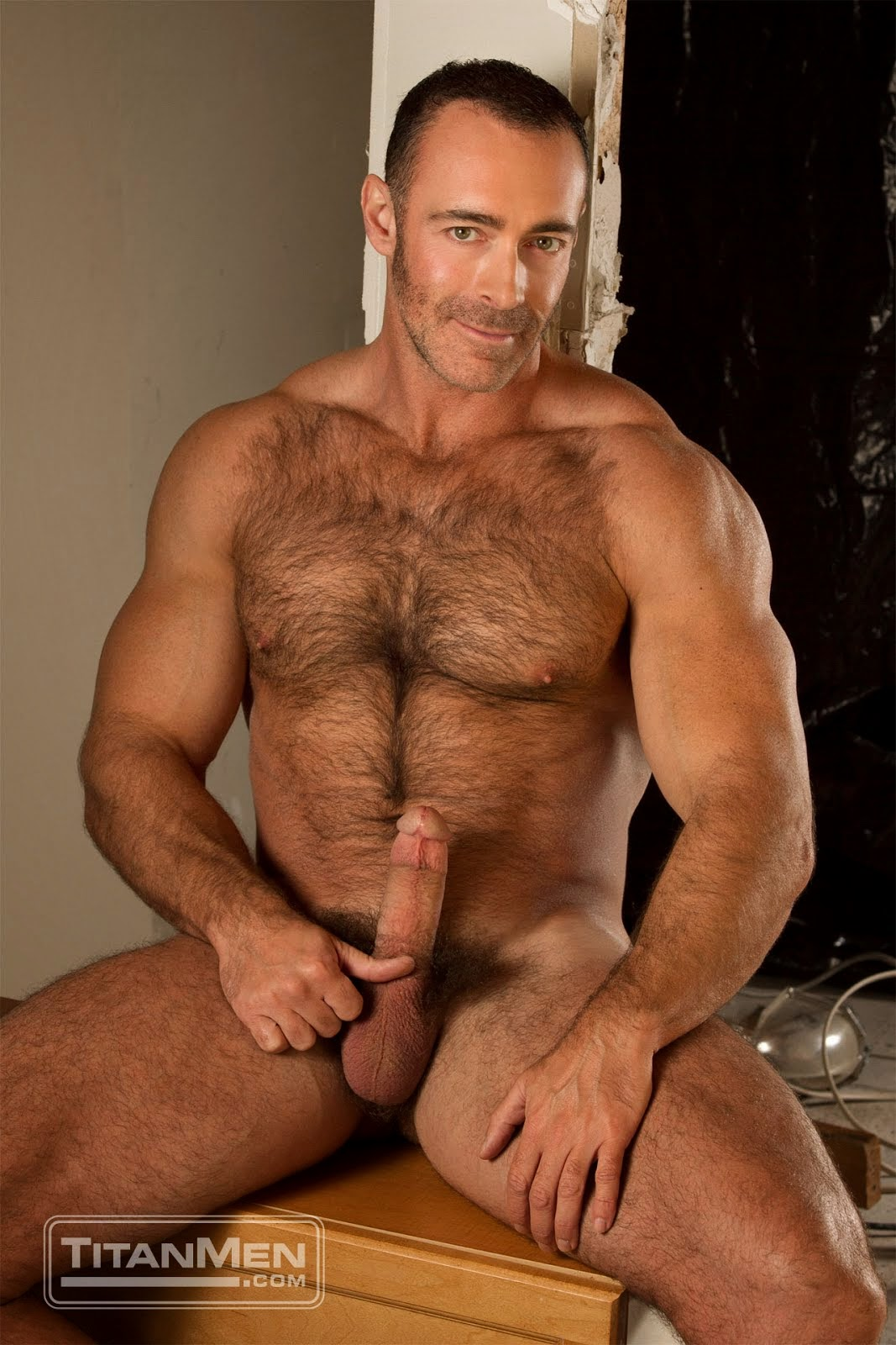 Hot Hairy Daddy Gay Porn