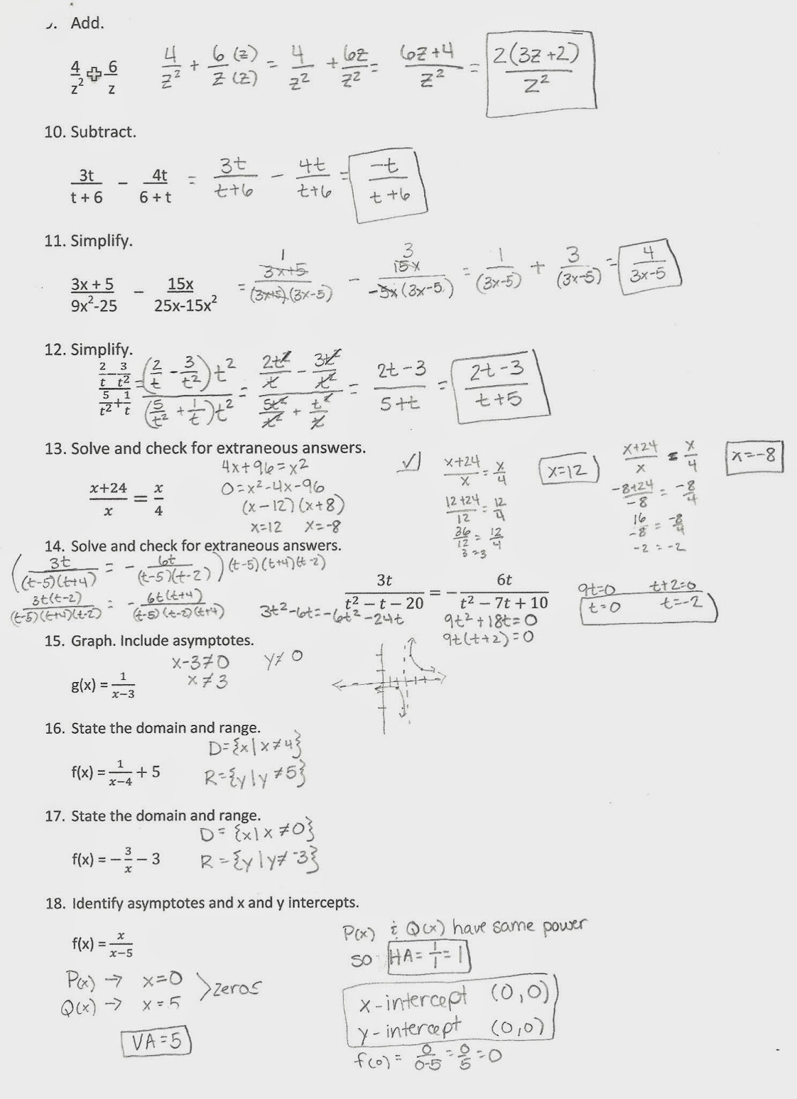 Glencoe Algebra 2 Chapter 3 5 Practice Worksheet Answers