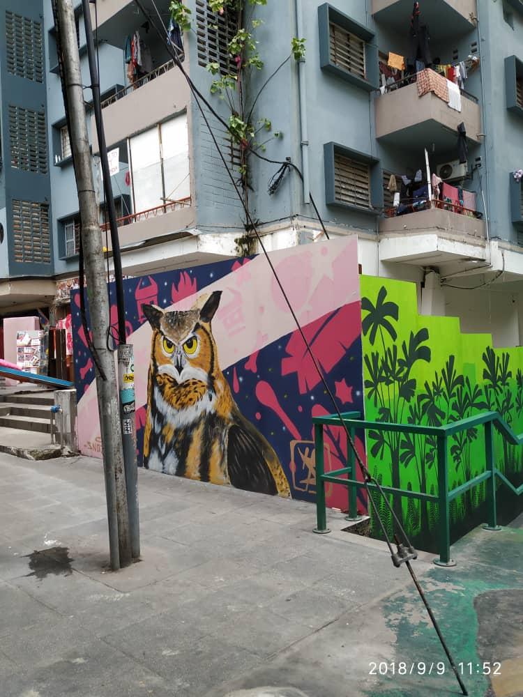 Jalan Alor Bukit Bintang Street Art Parenting Times