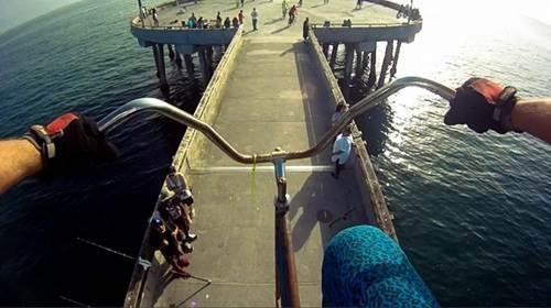 pandangan perspektif penunggang basikal