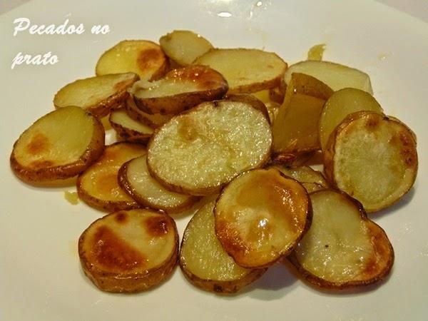 Batatas gratinadas