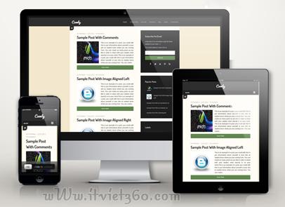 Camly - Một template reponsive blogger chuyên nghiệp dành cho Blogging