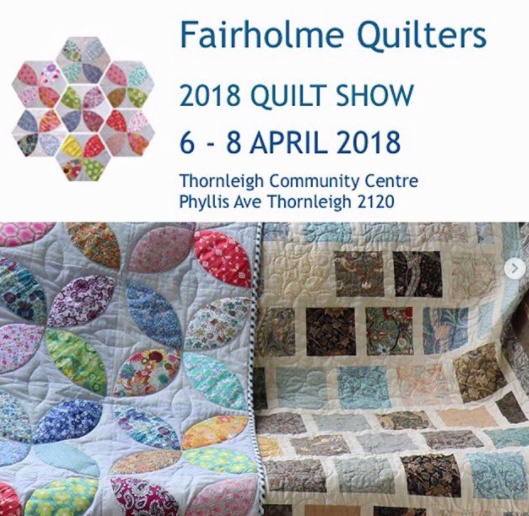 Fairholme Quilters: Have we mentioned our quilt show and
