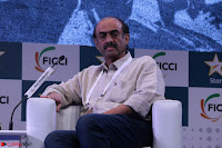 Arjun Rampal with Ajit Andhare At FICCI FRAMES 2017 008.JPG