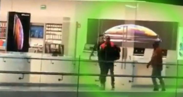 VIDEO: Grupo armado saquean tienda MacStore en Guanajuato