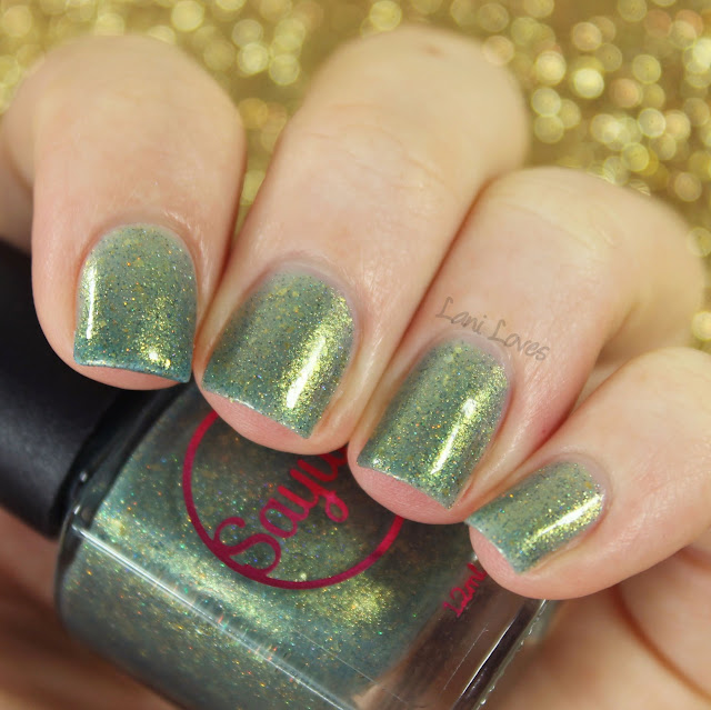 Sayuri Nail Lacquer - Morning in a Pine Forest Swatches & Review