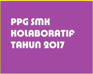 Pendaftaran PPG SMK Kolaboratif 2017