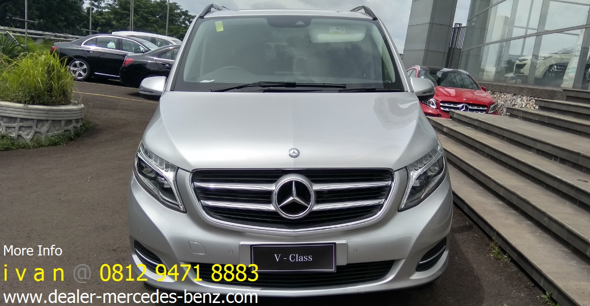 V class v220d 2017 silver harga promo dealer mercedes for Mercedes benz service b coupons 2017