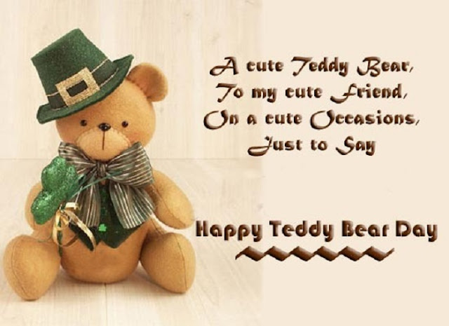 Happy Teddy bear day, happy teddy quotes, best quotes on teddy day