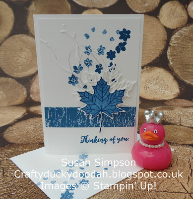 Stampin' Up! UK Independent  Demonstrator Susan Simpson, Craftyduckydoodah!, Colorful Seasons, June 2017 Coffee & Cards Project, Supplies available 24/7 from my online store,