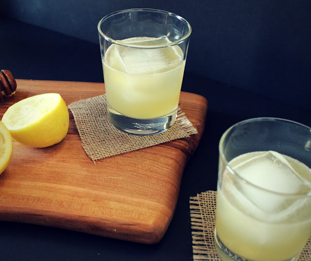 If you're looking for a whiskey sour sans egg white, try this honey recipe.