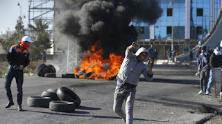 mobilisation des Palestiniens