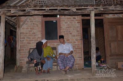 Awal Ramadhan, Plt Bupati Nur Arifin Menginap di Rumah Warga Ngrambingan Panggul