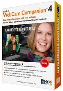 Arcsoft WebCam Companion 4.0.0.374 Activation code Latest