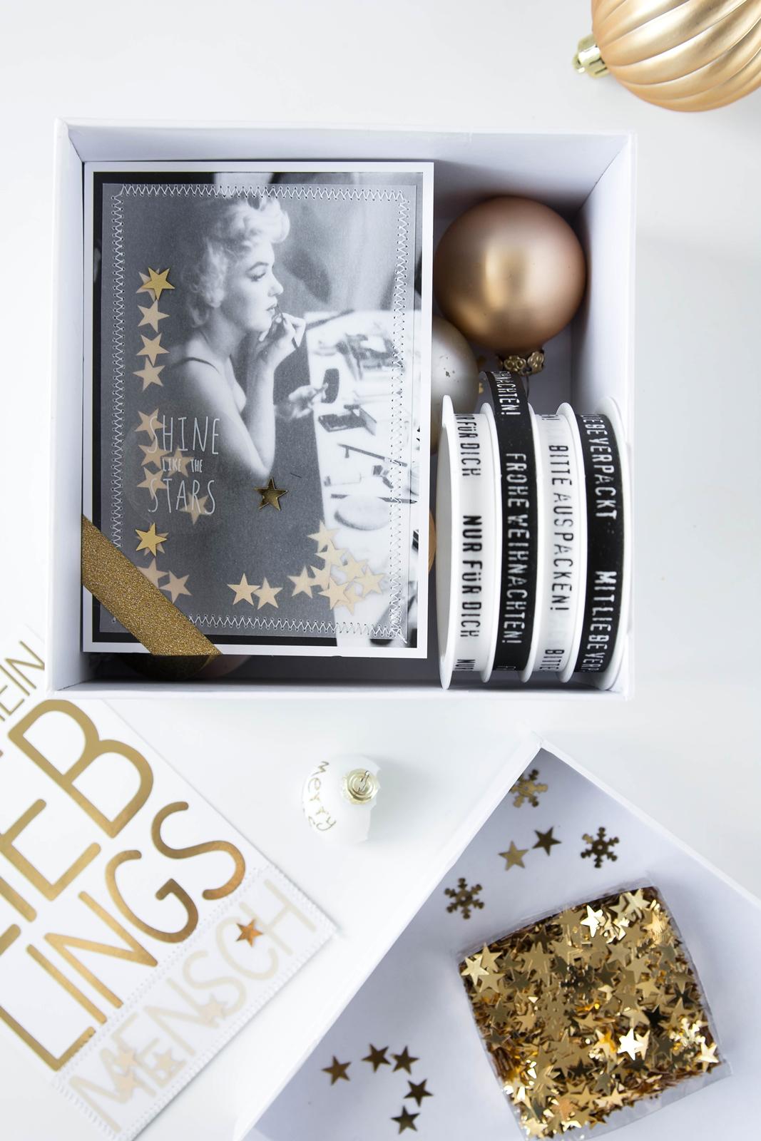 DIY nostalgische Weihnachtskarten