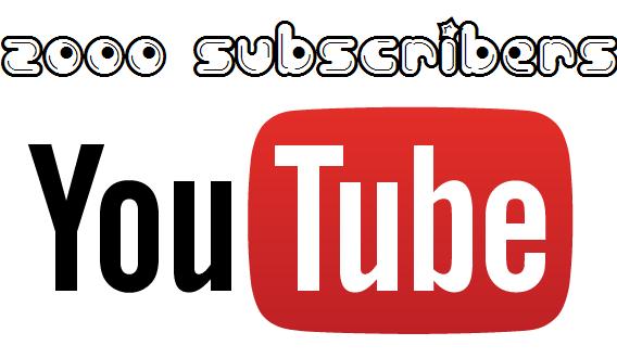 Buy 2000 YouTube Subscribers