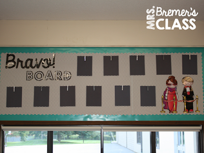 Teacher hack: a simple way to display student work throughout the entire school year!