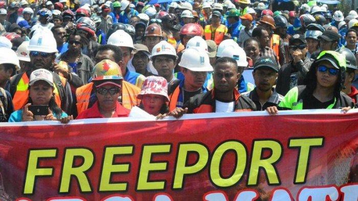 Buruh Freeport Diabaikan Publik Papua, 8.300 Orang Mogok, 21 Meninggal...